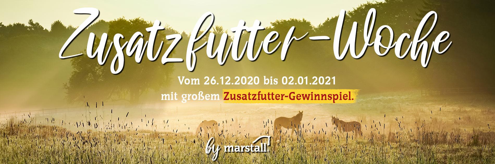Zusatzfutter-Woche by marstall