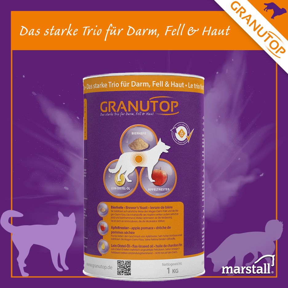 Granutop auch für Hunde